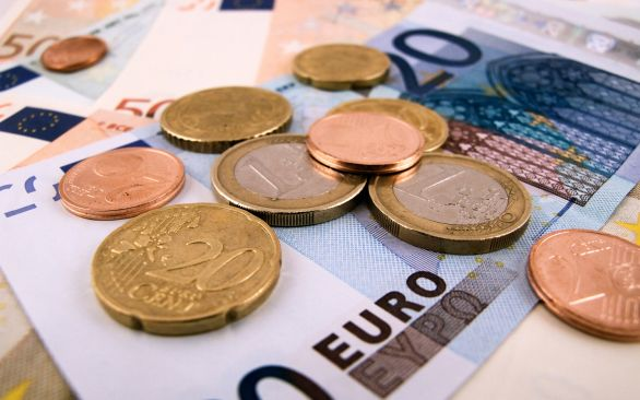 Euros and travel money